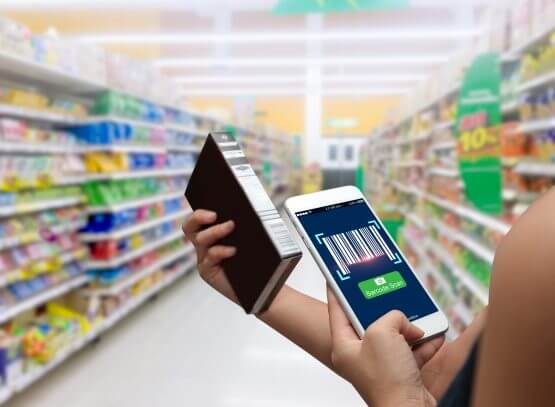 grocery shopping with AR technology