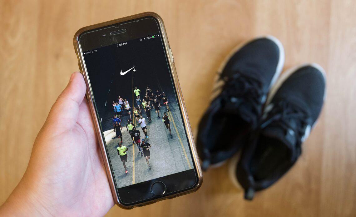 Nike app to improve