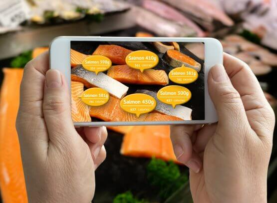 augmented reality for food and beverage