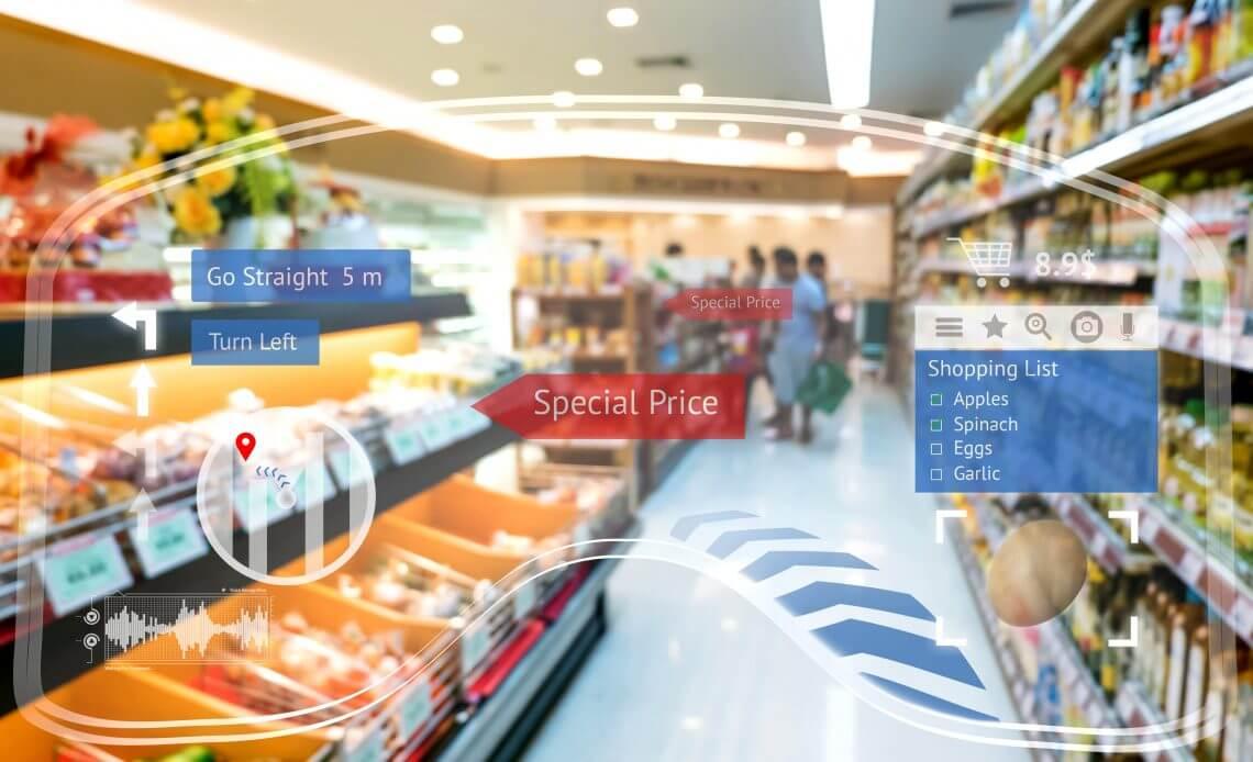 digitalizing shelf space with ar
