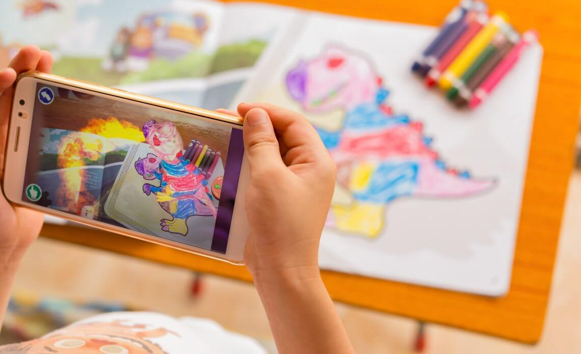 AR Technology in Print Campaigns