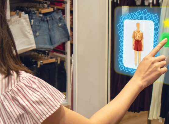 mixed reality for fashion industry